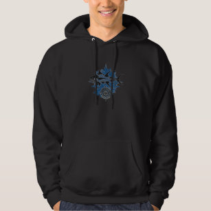 Wicked Waters Men's Pullover Hoodie With Tuna