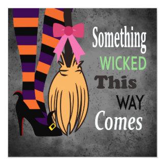 Wicked Witch 13 Cm X 13 Cm Square Invitation Card