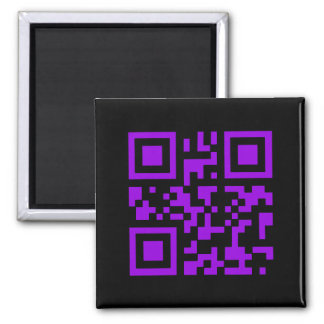 Wicked Witch Bar Code Square Magnet