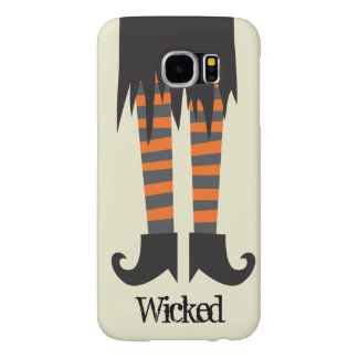 Wicked Witch Funny Halloween Samsung Galaxy S6 Cases