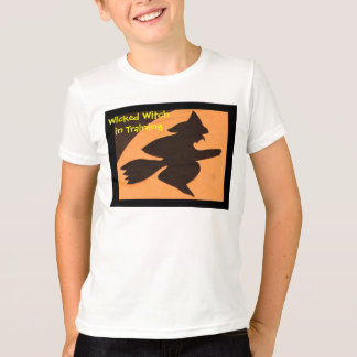 Wicked Witch in Training Fashion by Janz Tee Shirt