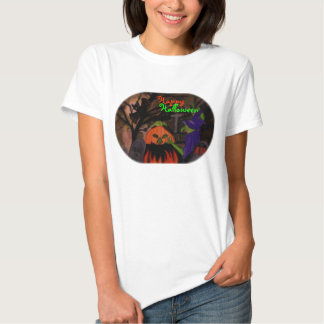 Wicked Witch of Halloween Tee Shirts
