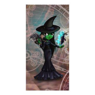 Wicked Witch Custom Photo Card