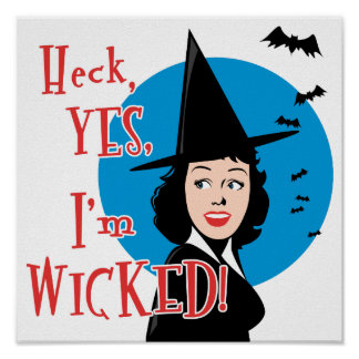 Wicked Witch Print