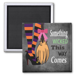 Wicked Witch Square Magnet