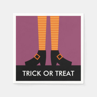 Wicked Witch Trick or Treat Disposable Serviettes