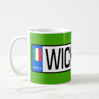 WickedCar Euro Plate Coffee Mug