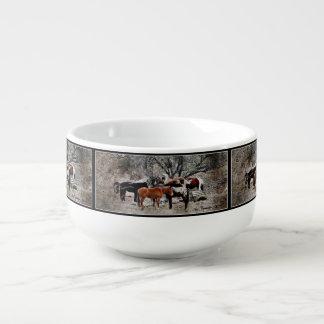 Wickenburg Horses Soup Mug