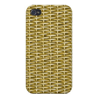 Wicker Basket Textured iPhone 4 Covers