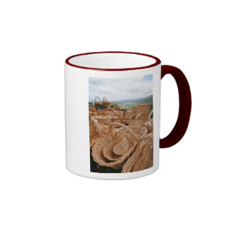 Wicker baskets mug