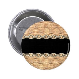 Wicker Chain pattern by Valxart com Button