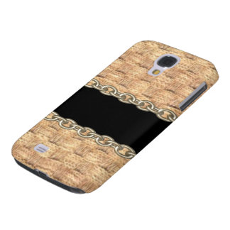 Wicker Chain pattern by Valxart.com Galaxy S4 Covers
