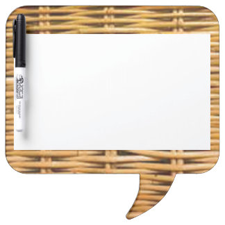 Wicker Dry-Erase Board