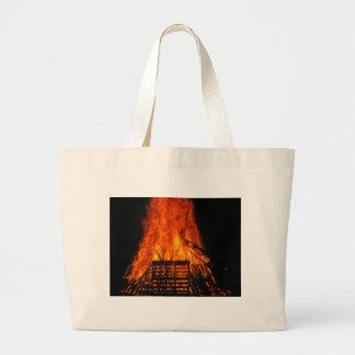 Wicker fire bag