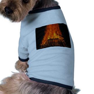 Wicker fire doggie tshirt