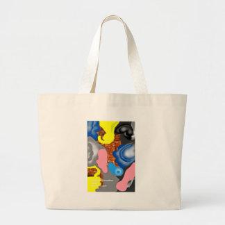 Wicker Jumbo Tote Bag