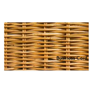 Wicker Pack Of Standard Business Cards