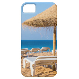 Wicker parasol with beach beds.JPG Barely There iPhone 5 Case