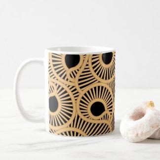 Wicker tear drops coffee mug