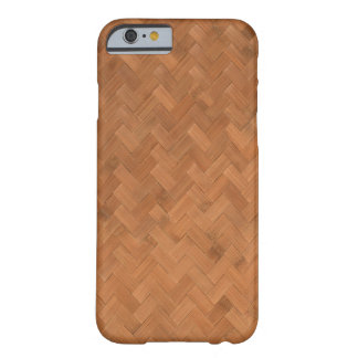 Wicker wood barely there iPhone 6 case