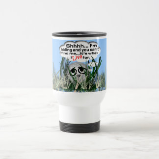 Widdle Ball in the Rough Travel Mug