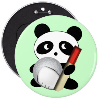 Widdle Golf Fan 6 Cm Round Badge