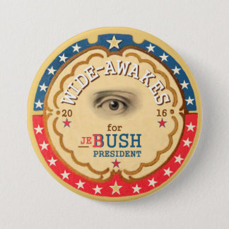 Wide-Awakes for Jeb Bush 2016 7.5 Cm Round Badge