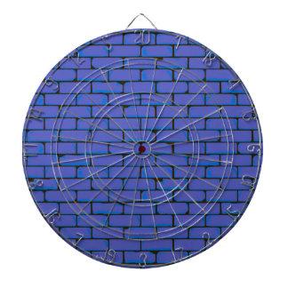 Wide Blue Wall Background Dartboard