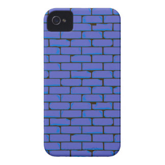 Wide Blue Wall Background iPhone 4 Case