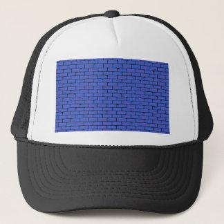 Wide Blue Wall Background Trucker Hat