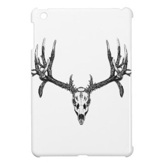 Wide buck skull iPad mini cases