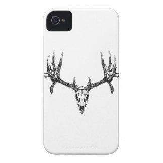Wide buck skull iPhone 4 Case-Mate case