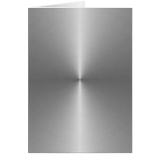 wide circular steel greeting card