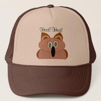 Wide Eyed Owl Trucker Hat