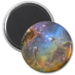 Wide-Field Image of the Eagle Nebula Fridge Magnet