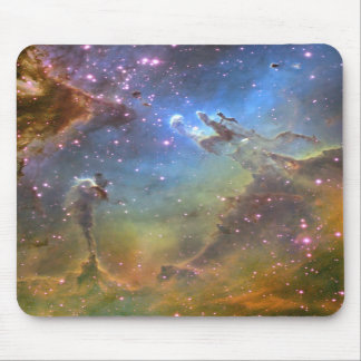Wide-Field Image of the Eagle Nebula Mouse Pads