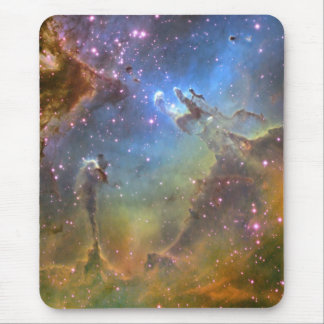 Wide-Field Image of the Eagle Nebula Mouse Pad