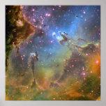 Wide-Field Image of the Eagle Nebula Print