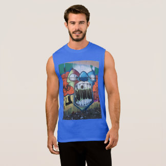 Wide Mouth Sleeveless Shirt