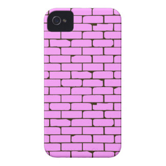 Wide Pink Wall Background iPhone 4 Cases