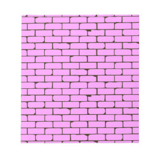 Wide Pink Wall Background Notepad