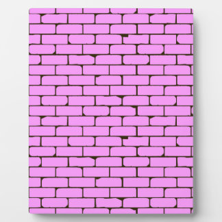 Wide Pink Wall Background Plaque