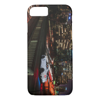 Widebody Nissan GT-R R35 Libertywalk in LA iPhone 7 Case
