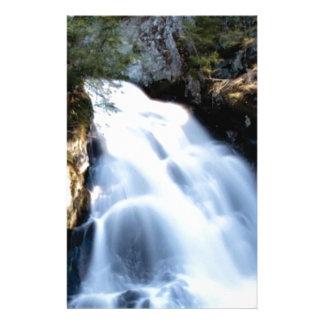 widening waterfalls stationery