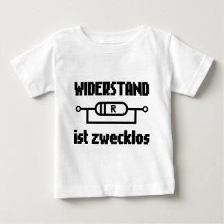 Widerstand ist zwecklos baby T-Shirt