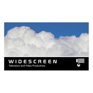 Widescreen 0477 - Cumulus Cloud II Business Card Template