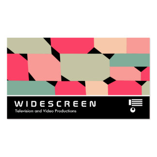 Widescreen 0493 - Abstract 081214 Business Cards