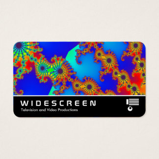 Widescreen 0535 - Fractal 120717 Business Card
