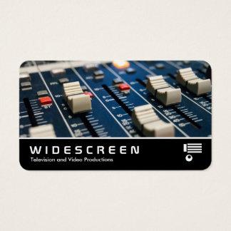 Widescreen 0537 - Mixing Desk Business Card