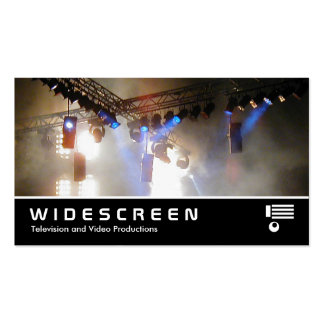 Widescreen 118 Lighting Array II Double-Sided Standard Business Cards (Pack Of 100)